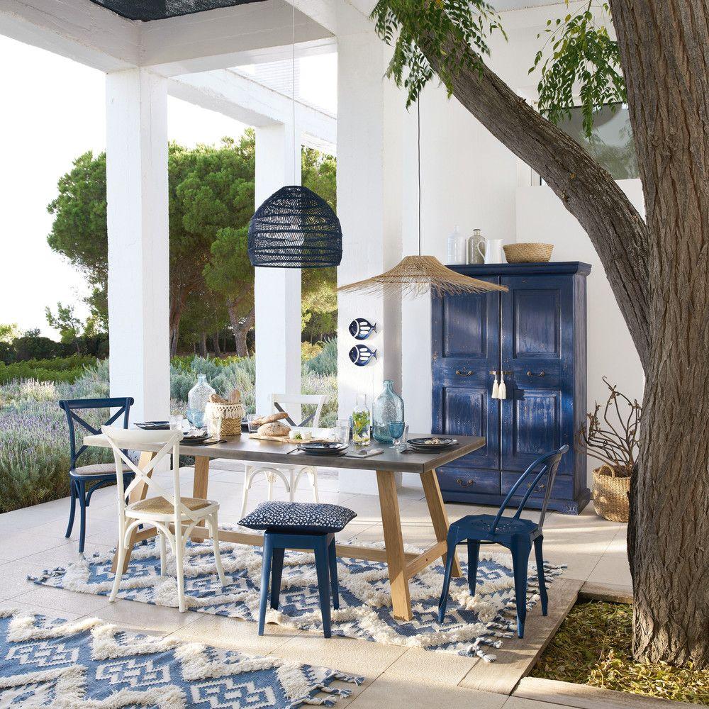 Gartentisch Aus Beton Imitat Fur 8 10 Personen Maisons Du Monde