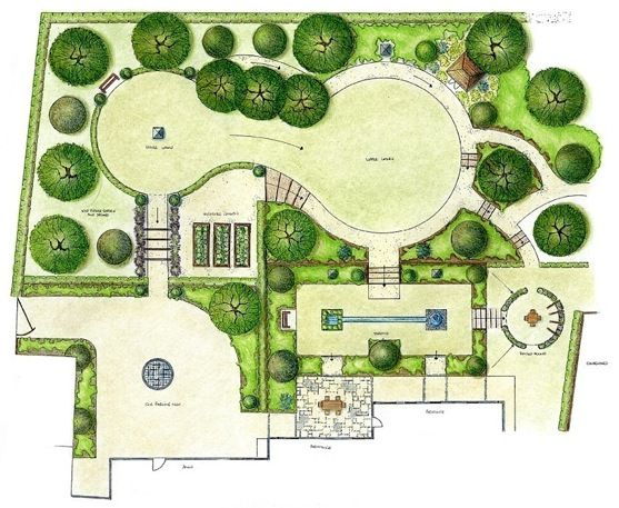 Rocks dwg landscape google search landscaping for Garden layout design