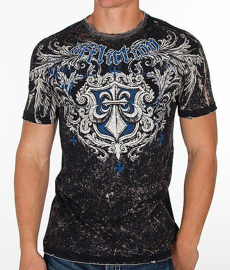 Affliction Mass Scale Reversible T-Shirt