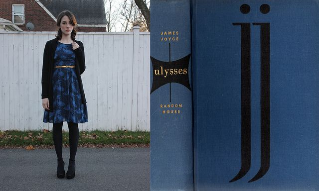 Wearing the Book: Ulysses by allthishappiness