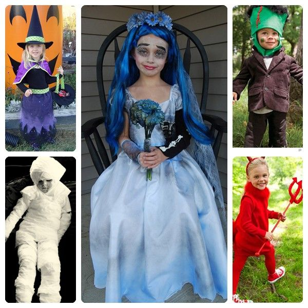 Disfraces infantiles caseros y calentitos para carnaval - Disfraz halloween casero ...