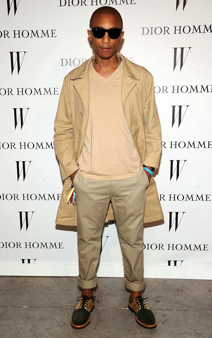 Style up by Angel: Menfashion Trendguide: PHARRELL WILLIAMS