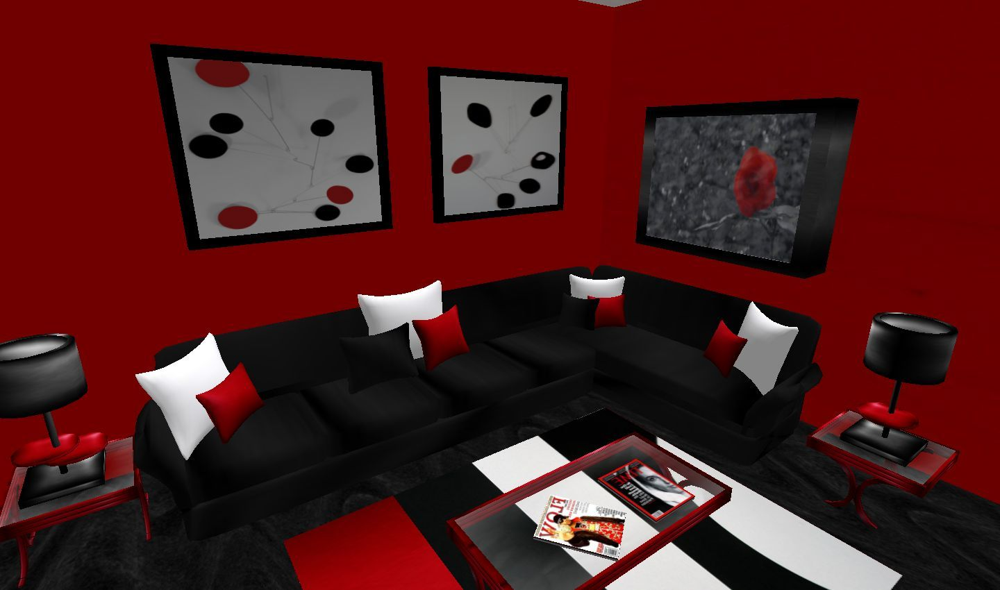 White And Red Living Room Red Living Room Decor Black And Red Living Room Red Furniture Living Room