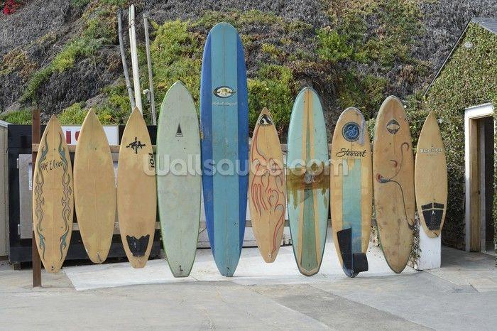surfboard wallpaper mural  Malibu Surfboards wallpaper mural   Surf Wallpaper   Pinterest ...