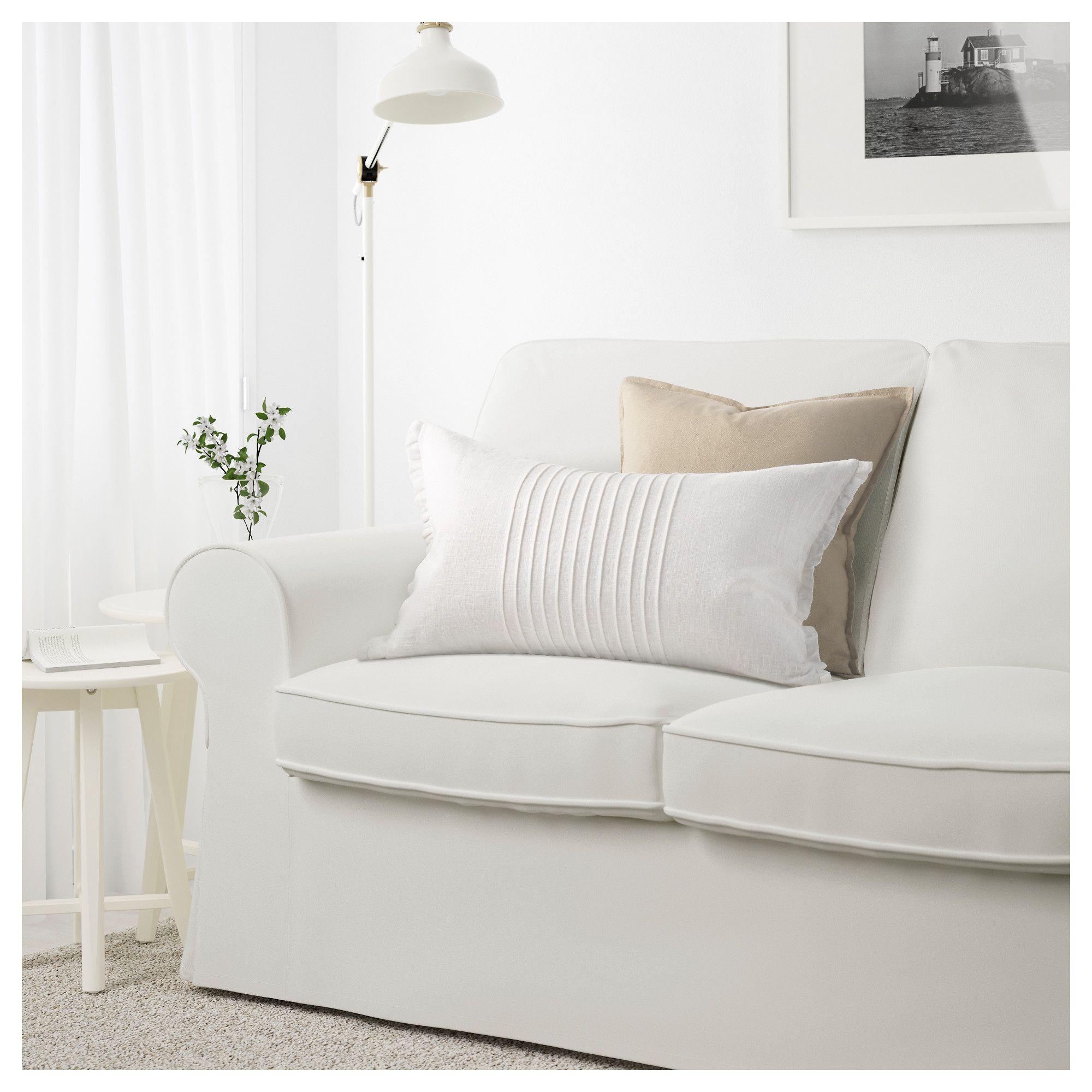 Ikea Ektorp 3 5 Seat Sofa Cover Vittaryd White Ektorp