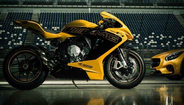 Mercedes-AMG and MV Agusta Jointly-Designed Show Bike at Frankfurt International Motor Show | Sport Rider