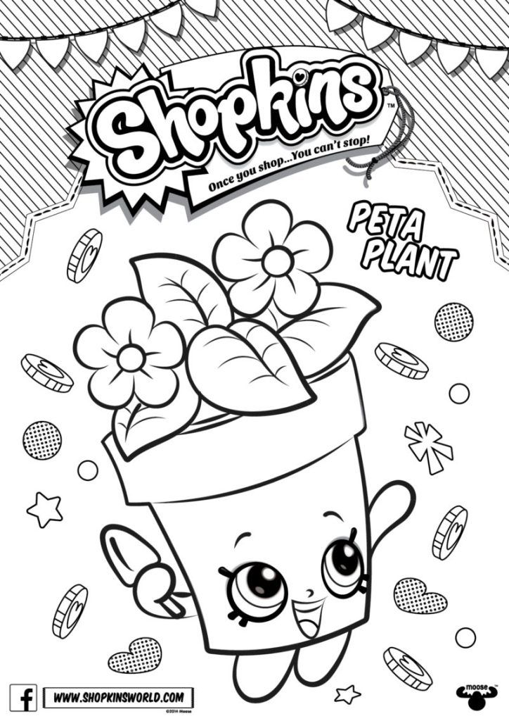 Shopkins free downloads coloring pages checklists