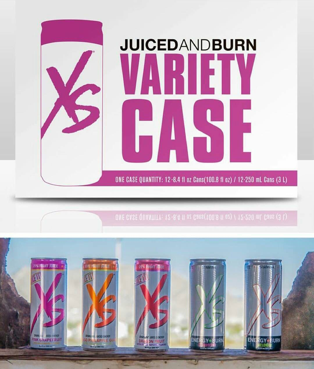 Try our new delicious variety case of XS Energy drinks! Get yours today @AllDreamSuccess