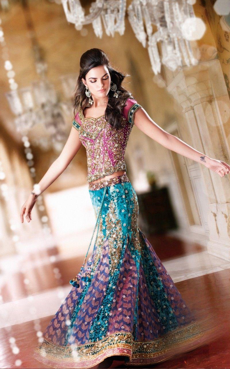 Lehenga dress image with unity