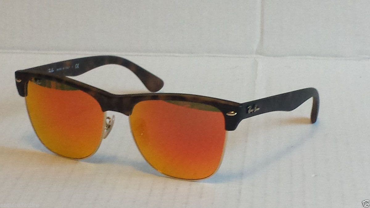 Ray-Ban #wayfarer style sunglasses RB 4175 mirrored orange lens made in  Italy visit
