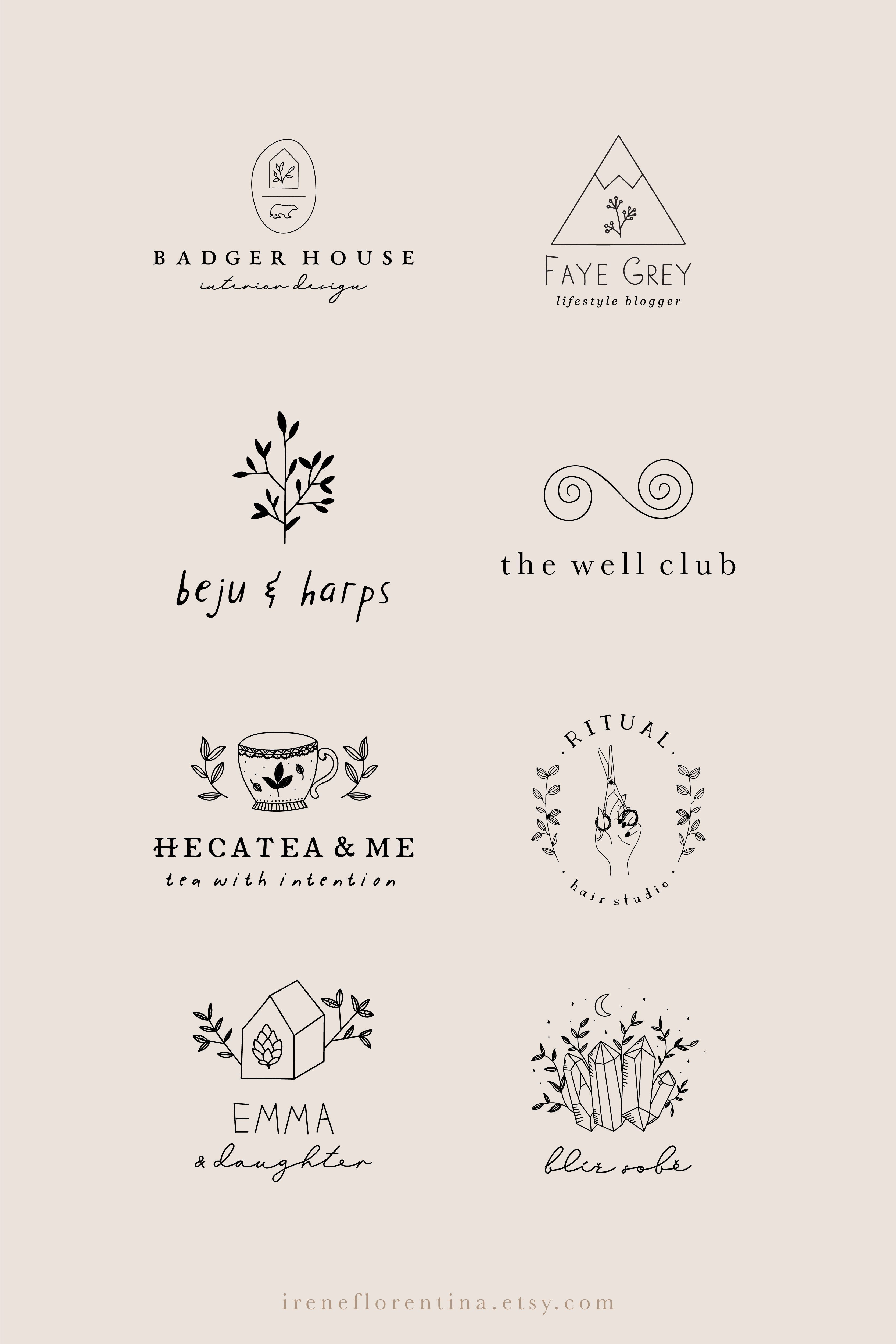 Photo of Branding and Graphic Design by IreneFlorentina on Etsy