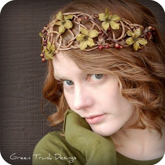 Woodland Berry Crown by GreenTrunkDesigns on Etsy