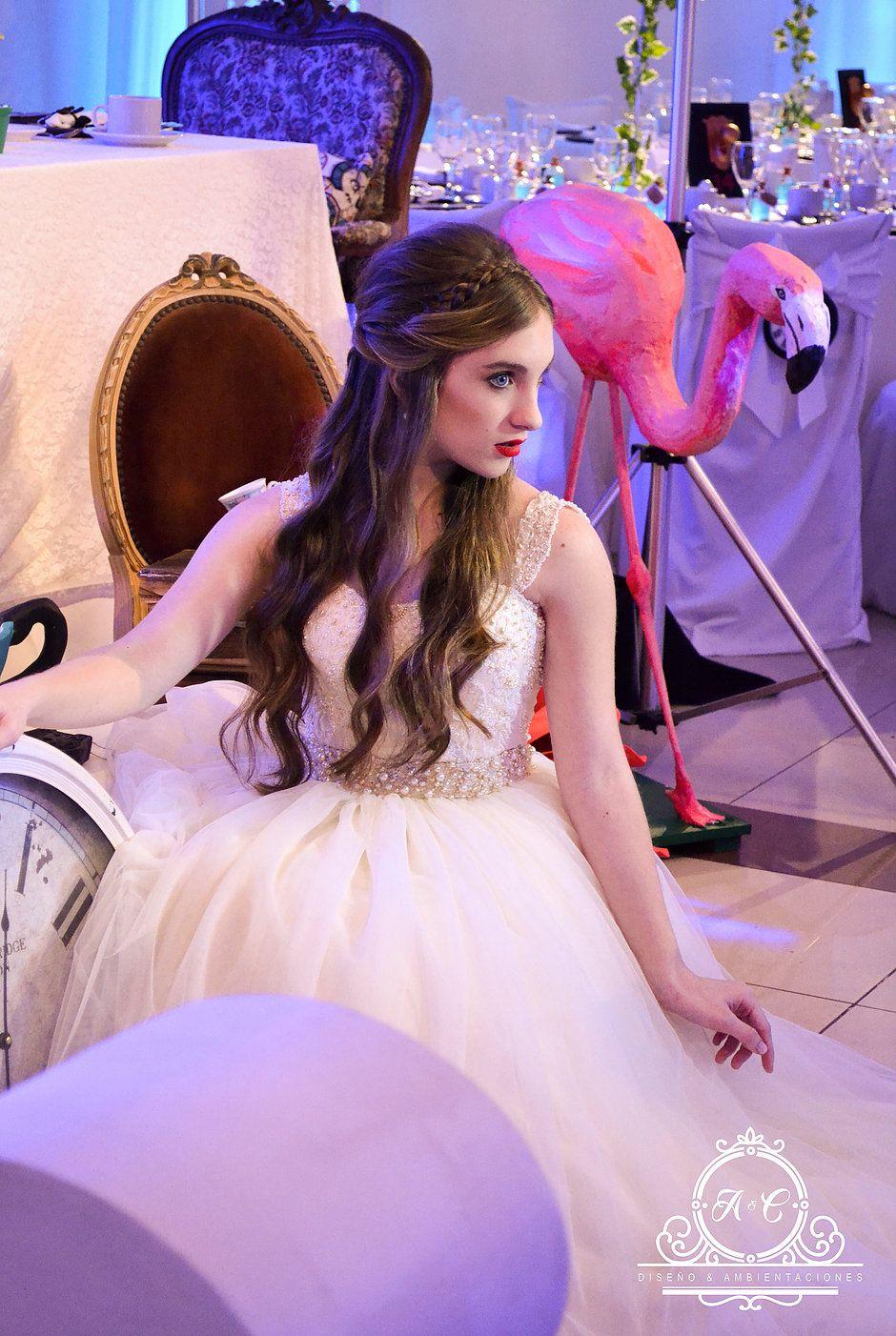 Ac Diseño Y Ambientaciones Vestido Floral Para Chicas Vestidos Formales Largos País De Las Maravillas