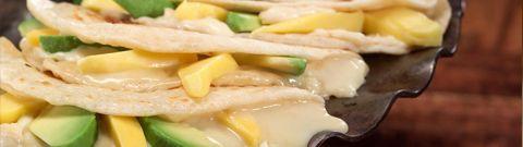 Mango, Brie & Avocado Quesadillas: Signature Menu Items - Don Strange of Texas Inc.