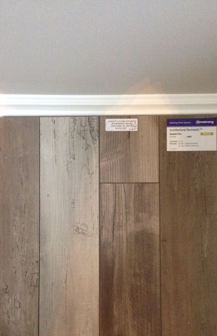 Sherwin Williams Requisite Gray Paired With White Trim Armstrong Seaside Pine Dockside Laminate