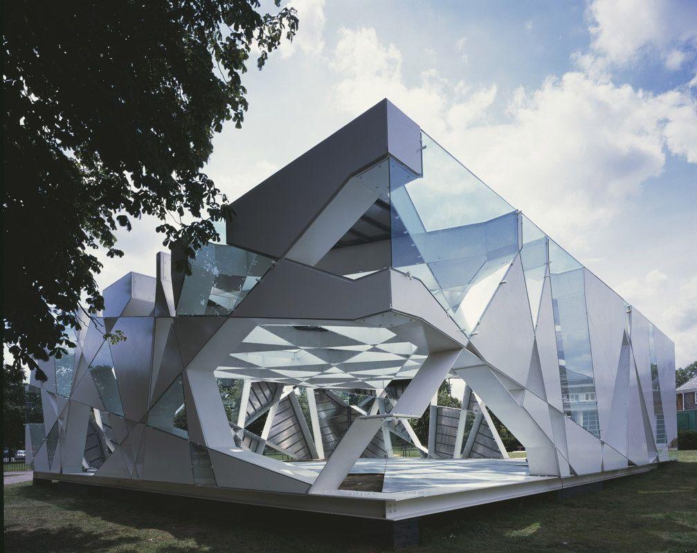 Serpentine gallery london ephemeral architecture for Arquitectura parametrica pdf