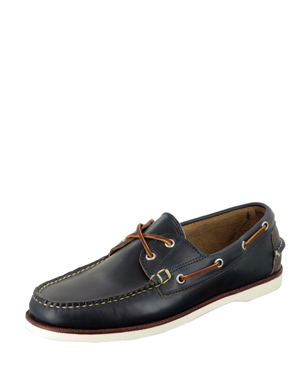 Freeport Boat Shoe, Navy, Men's, Size: 7.5D - Eastland Made in Maine