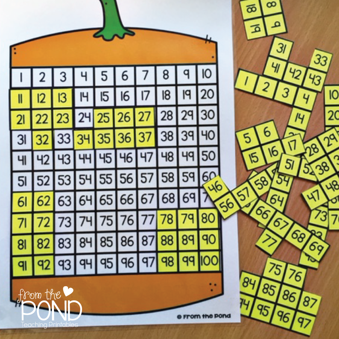 100 Chart Activities For The Year