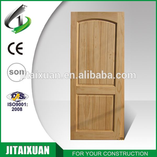 China Cheap Interior Exterior Pine Solid Wood Door Alibaba