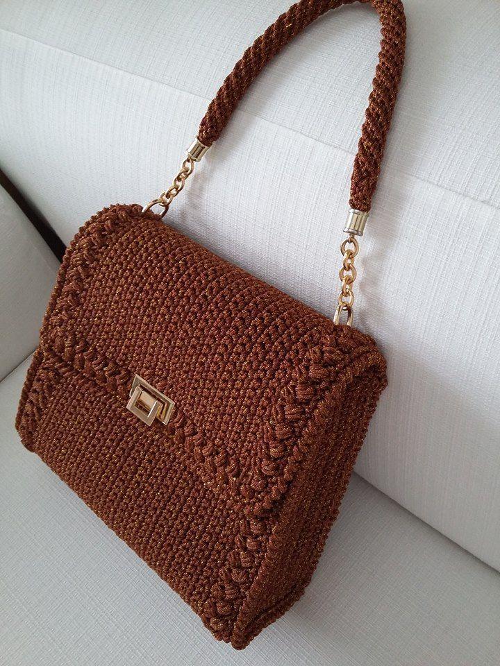 fb22ec85e671439f201390d7b41923a3.jpg 720×960 pixels | Crochet bags ...