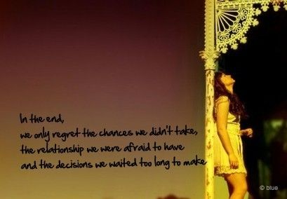 in the end.. #quotes
