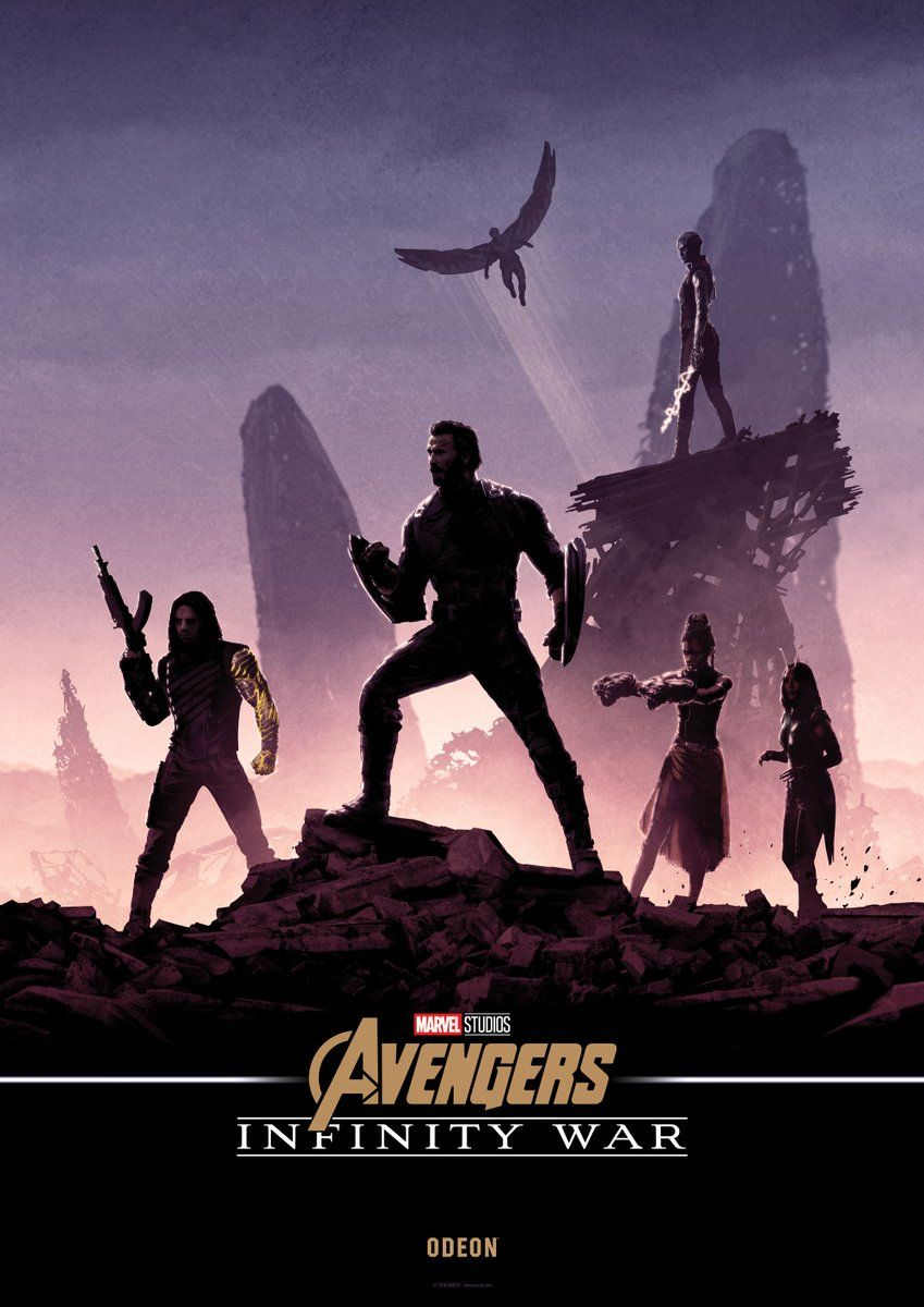Amazing New Avengers Infinity War Posters Combine To Create One Mind Blowing Banner Avengers Avengers Infinity War Marvel Posters