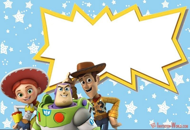 Toy Story Invitations Free Download Toy Story