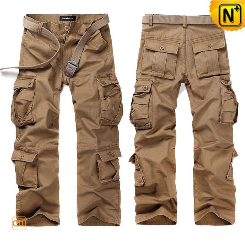 34dbdbe5cf1af2 Belted Cargo Pants Trousers for Men CW140285 Cool belted cargo pants  trousers for men with 100