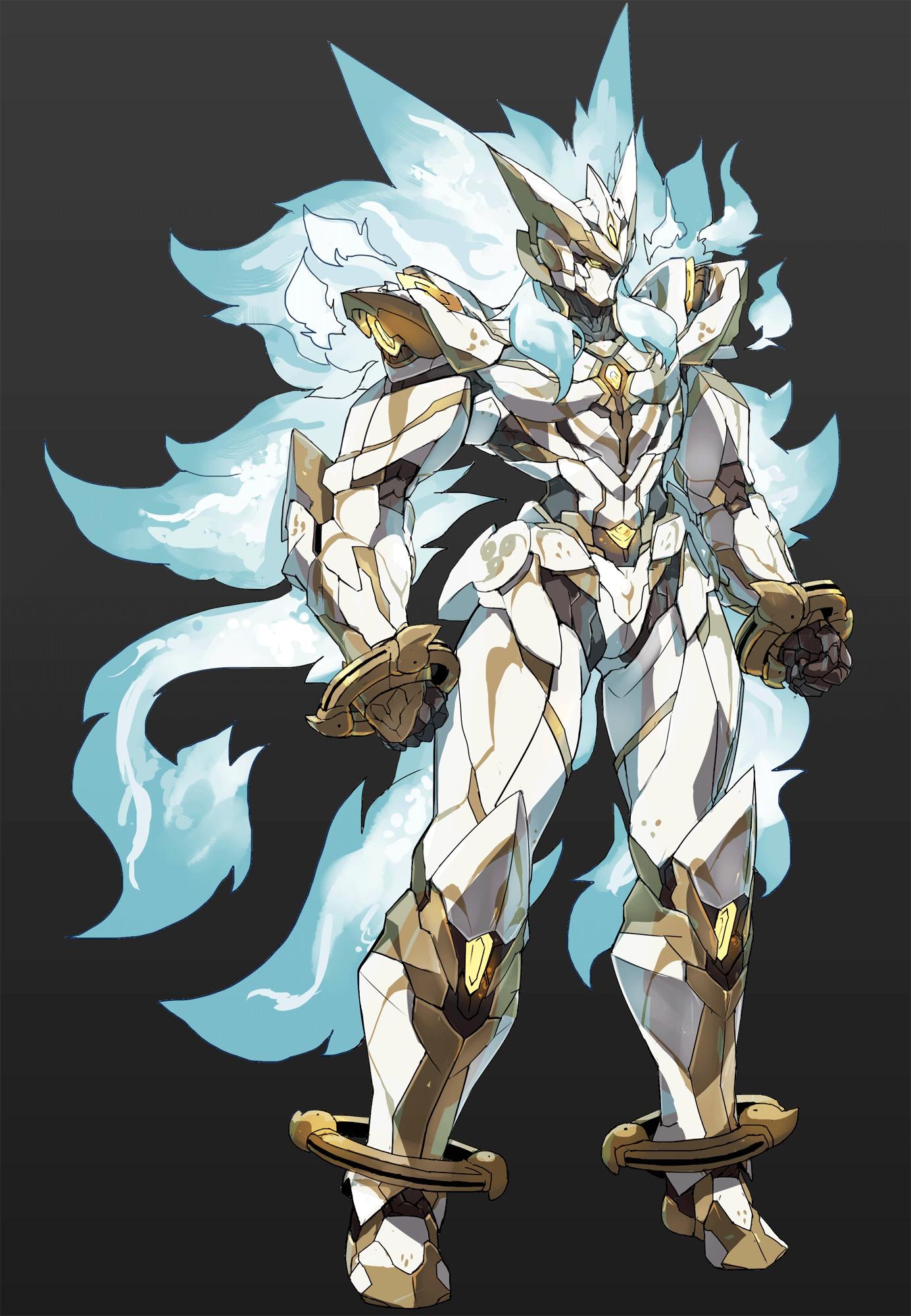 guys garage ideas - 【PRWV Afmachine armor God Sanki wolf
