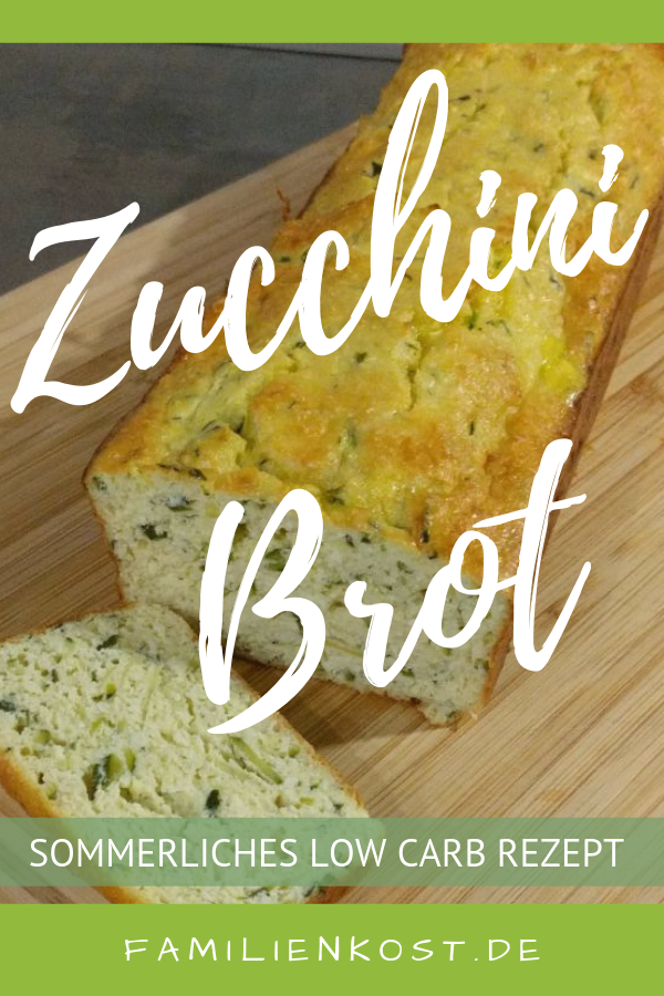 Photo of Low Carb Zucchini Brot