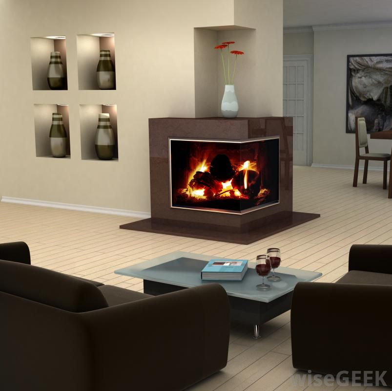 Room · Condo Friendly Fireplaces | Mecc Interiors | Design Bites