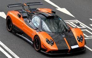 Pagani Zonda Cinque Roadster Orange