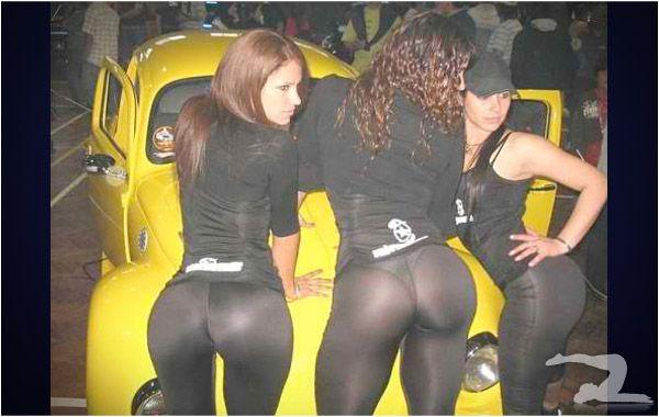 Yoga Pants Threesome