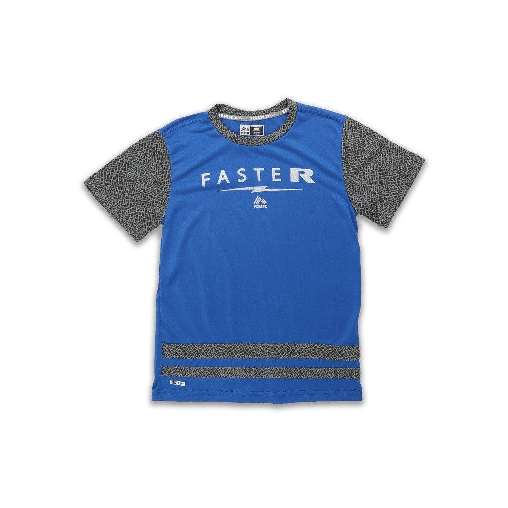 Boy's Mesh Short Sleeve Performance T-Shirt with Graphic