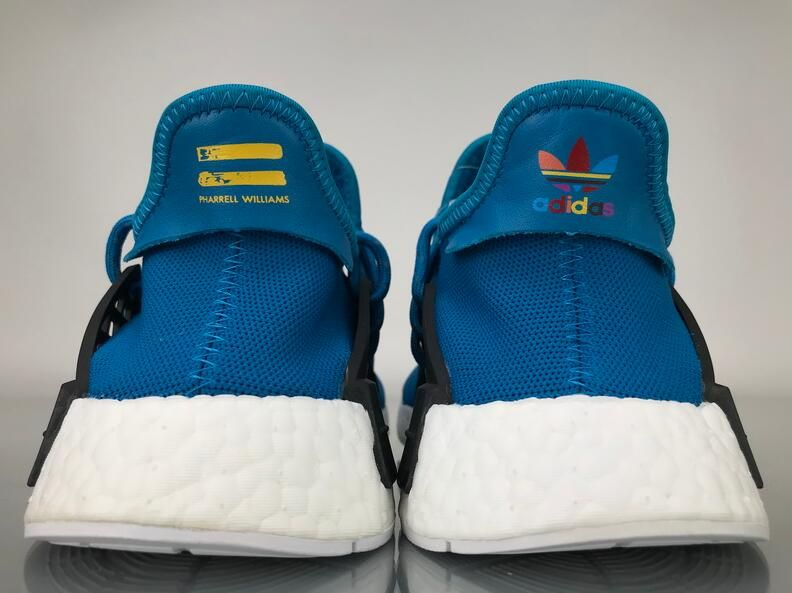 "the best attitude d594d 57cef Adidas NMD Human Race Pharrell Williams ""Blue"" Real Boost ..."