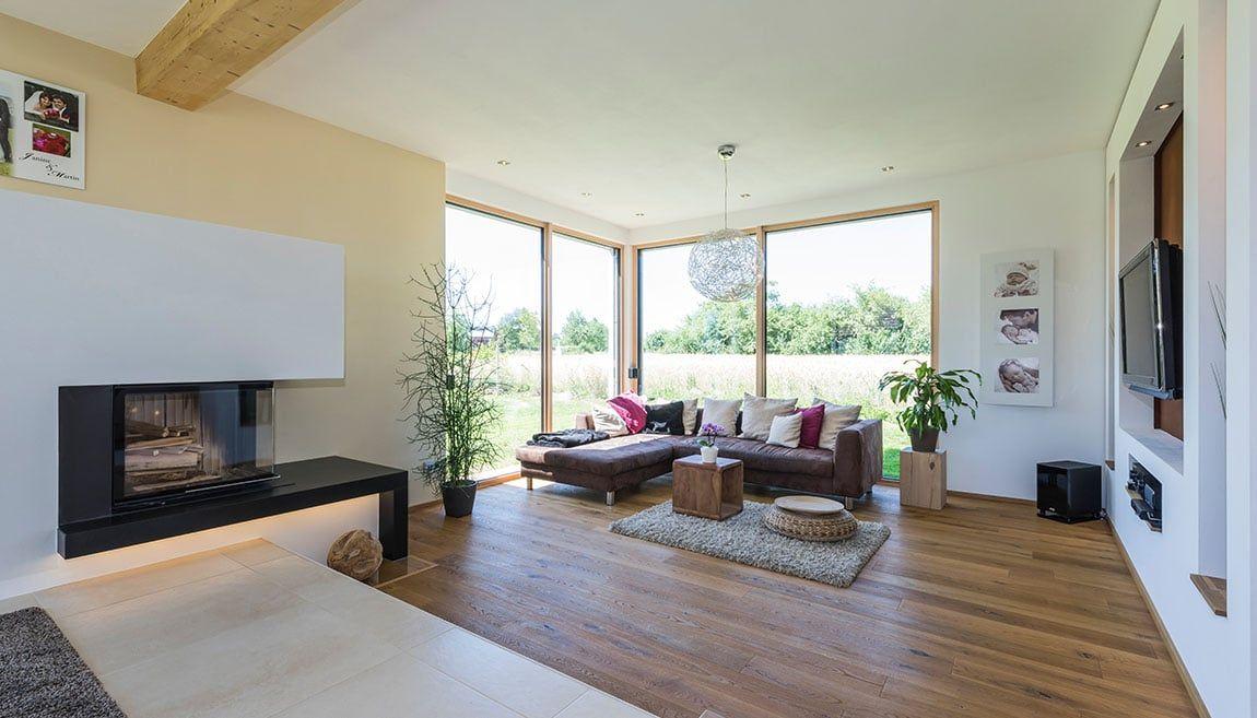 Architektenhaus Dornhan Wohnzimmer wohnzimmer Pinterest Haus - kuche wohnzimmer offen modern