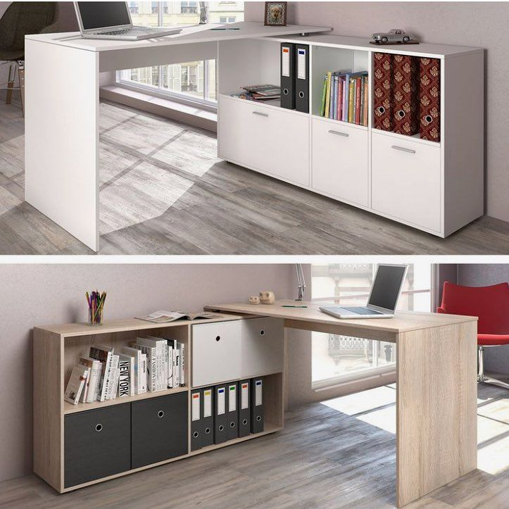 """Living Spaces Office Furniture: Design Code On Instagram: """"Convertible Desk For Small"""