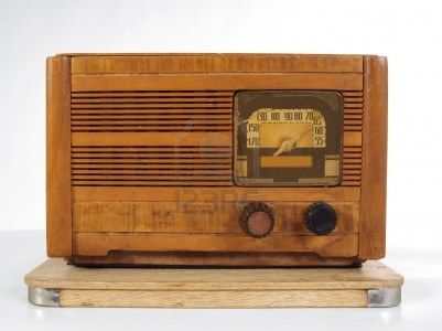 Antique Art Deco Wooden Radio From The 1920s Stock Photo Antique Radio Antique Art Deco Art Deco