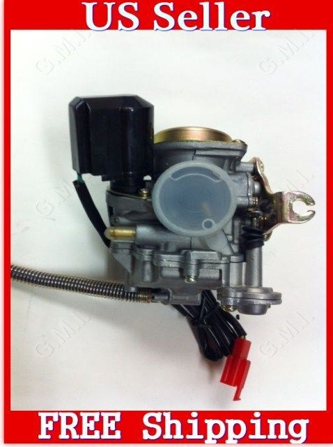 50cc Scooter Moped Carburetor Carb For 4 Stroke Gy6 Sunl Roketa Qmb139 301 Carburetor Scooter Parts 50cc