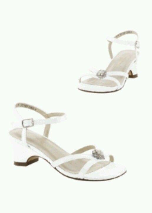 Davids bridal $30 flower girl shoes