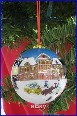 Christmas Ornaments Painted Inside