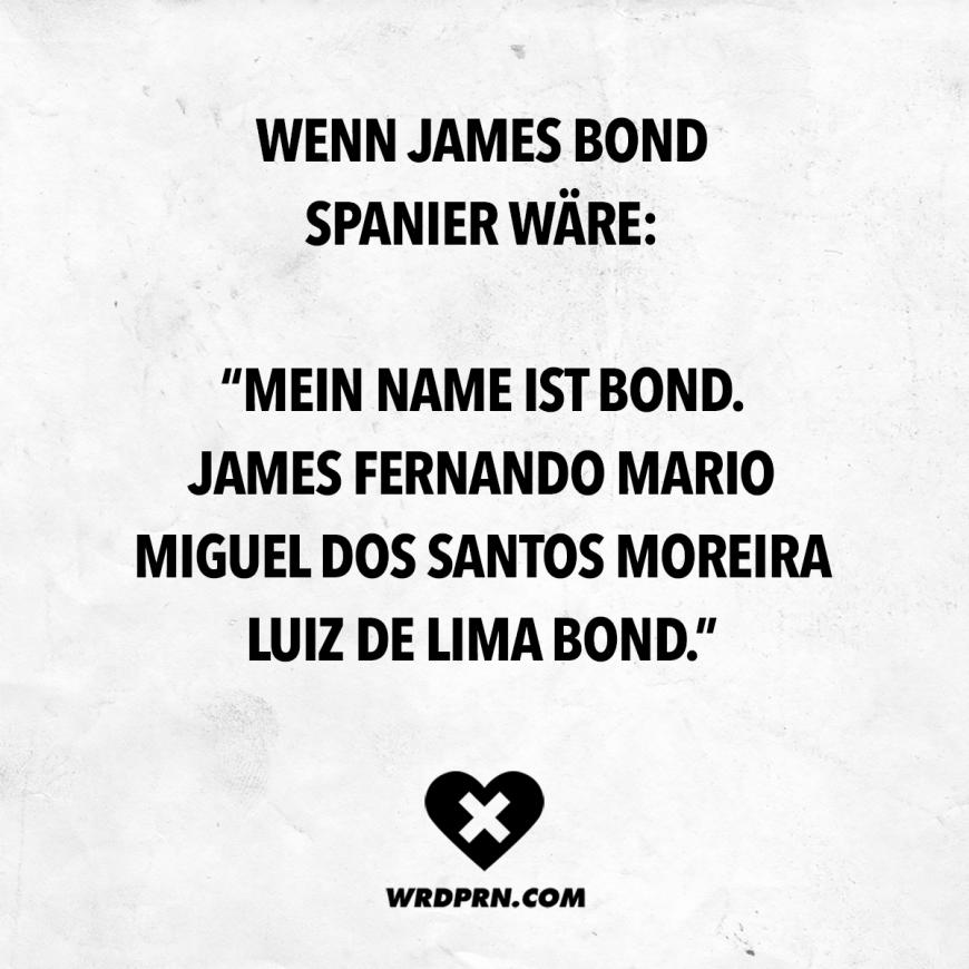 Wenn James Bond Spanier wäre: