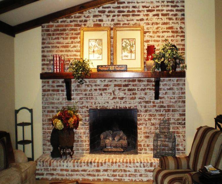 White Wash Brick Fix My Room Series How To Freshen Up A Brick