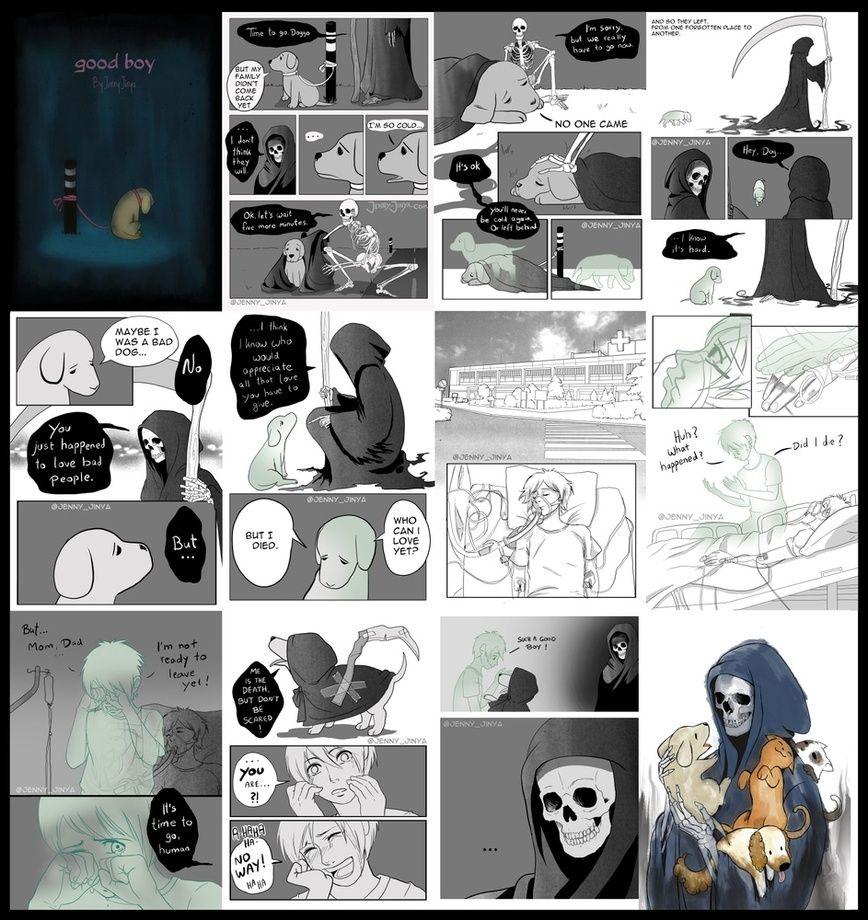Pin on Grim Reaper Comic