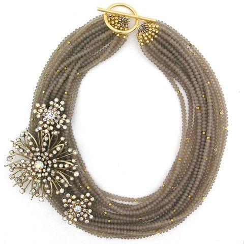 Subtle Perfection necklace by Elva Fields