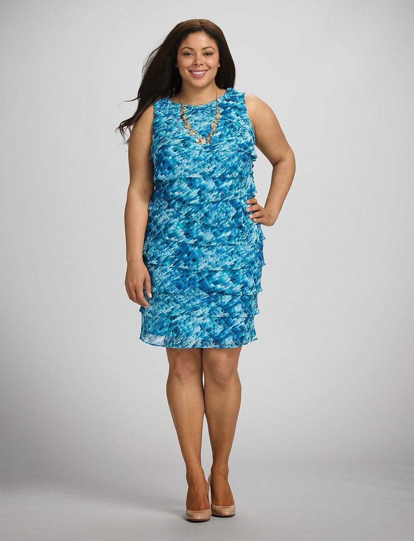 Magníficos vestidos casuales para gorditas | costura | Pinterest ...