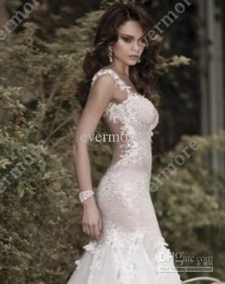 David's Bridal Backless Dresses