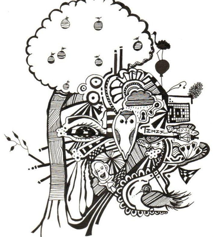 Originalen er tegnet med ballpoint pen.   Signeret og trykt på 250 g. papir.  Størrelse: A4 eller A3  ____    The original artwork is made with ballpoint pen.   Signed and printed on 250 g. paper.   Size: Available in A4 and A3    Shipped in cardboard tube.    web: www.dittemariedrehn.dk  facebook: www.facebook.com/DitteMarieDrehn