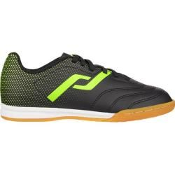 Photo of Pro Touch Kinder Fussball-Hallenschuhe Classic Iii In, Größe 36 in Black/yellow, Größe 36 in Black/y