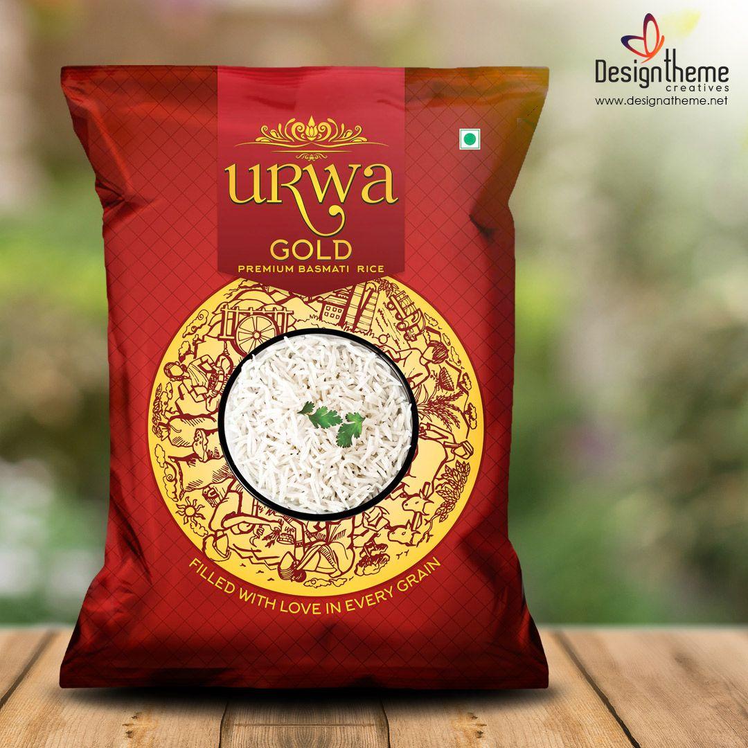 Rice Bag Package Design Food Packaging Design Rice Packaging Logo Packaging Design